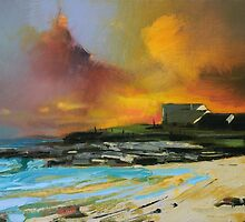 Isle of Barra hotel by scottnaismith