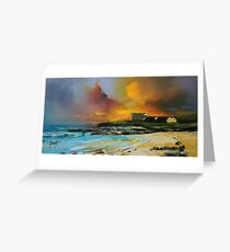 Isle of Barra hotel Greeting Card