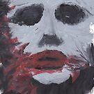 Creepy Smeared Makeup Man - V1 by krisy254