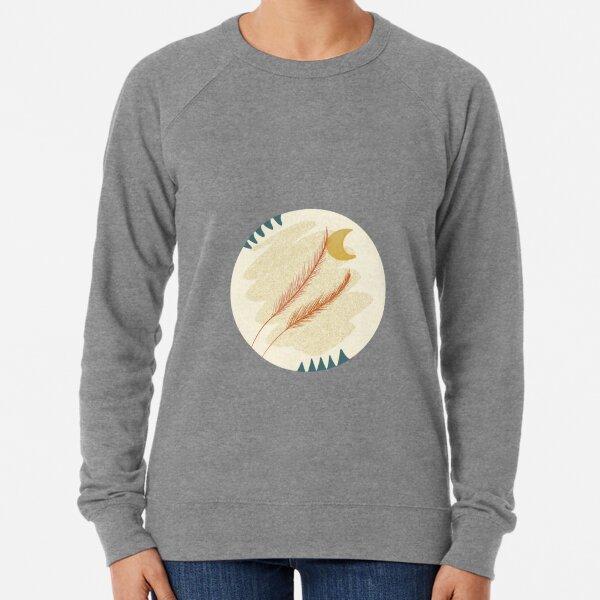 Bohemian Feathers Lightweight Sweatshirt