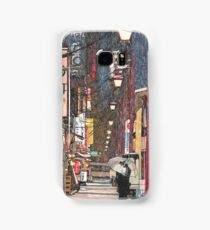 Lights in the Snow Samsung Galaxy Case/Skin
