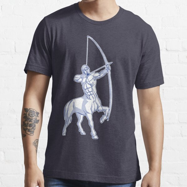 White and Blue Centaur Aiming High T-Shirt by Cheerful Madness!! Essential T-Shirt