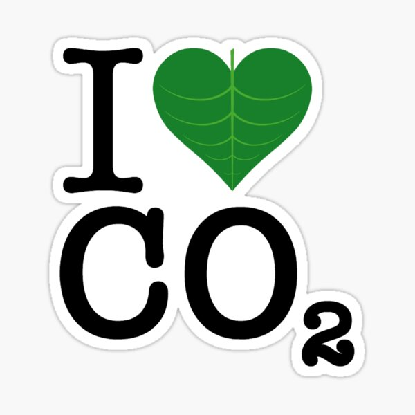 CO2 Sticker