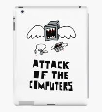 Attack of the Computers tee iPad Case/Skin