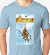 A Baboon Plays Bassoon From Balloons T-Shirt