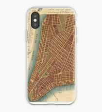 Vinilo o funda para iPhone Vintage Map of Lower New York City (1807)