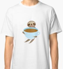Sloth with a Cup Classic T-Shirt