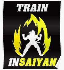 Train in saiyan Poster