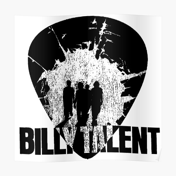 Billy Talent Pick Poster
