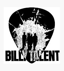 Billy Talent Pick Photographic Print