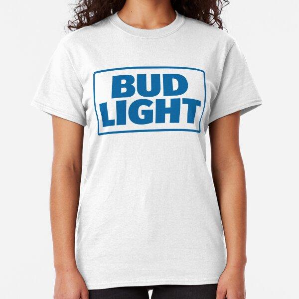 Bud Light Dilly Dilly Box Logo Navy Tee Shirt Blue