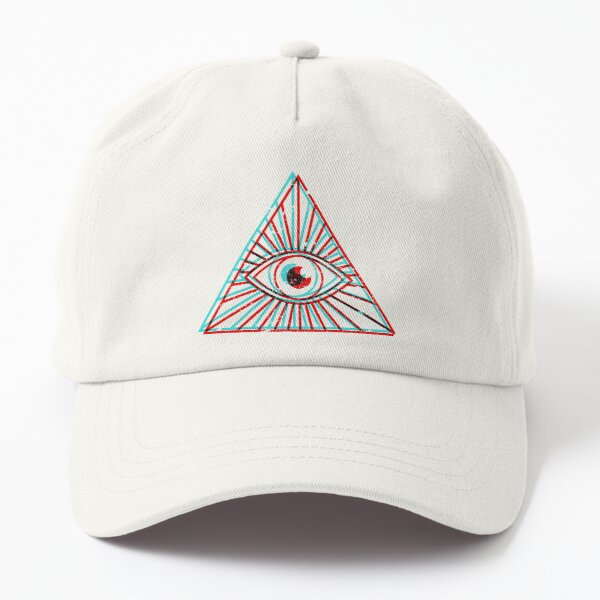 3D All Seeing Eye Dad Hat
