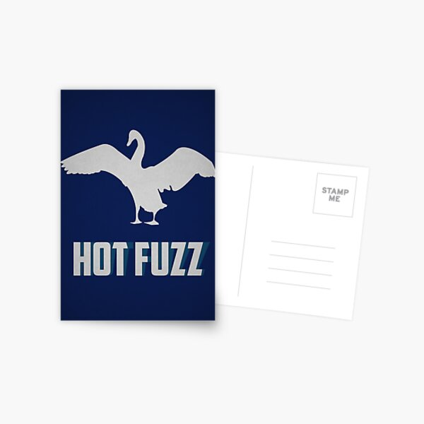 Hott Fuzz Minimal Postcard