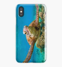 Surfing Turtle iPhone Case/Skin