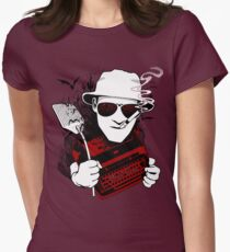 We Can't Stop Here - Homage to Hunter Thompson Womens Fitted T-Shirt