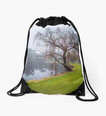 Foggy Morning - Tomato Lake Drawstring Bag