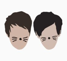 Phil Lester and Dan Howell (without text) | Unisex T-Shirt