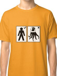 Sorry, I only date humanoids (male) Classic T-Shirt