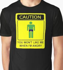 Don't Make Me Angry Graphic T-Shirt