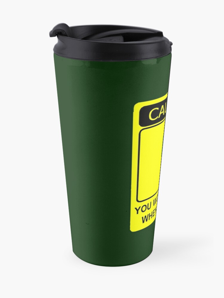 Alternate view of Don't Make Me Angry Travel Mug