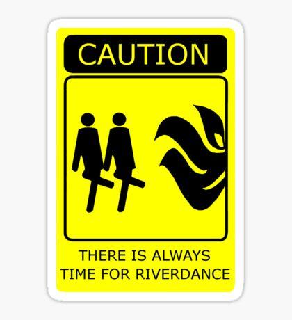 Time for Riverdance Sticker