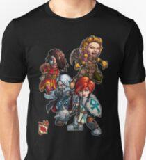 Tiny Fantasy Adventures: Core Party! Unisex T-Shirt