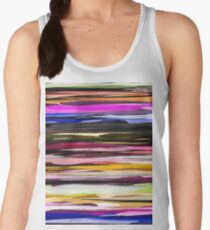 Watercolor Colored Abstract Background Women's Tank Top