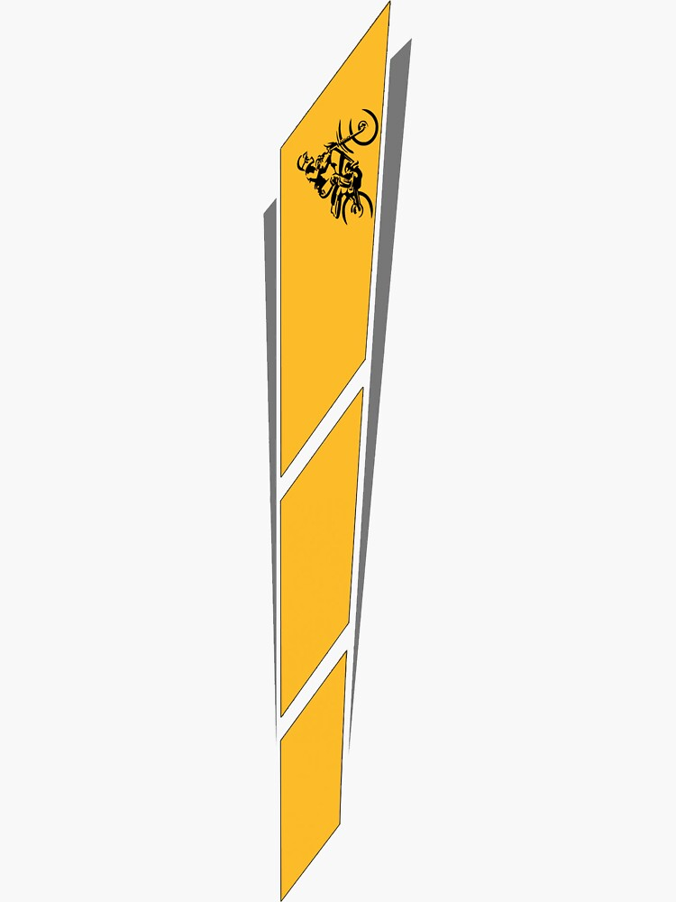 Yamaha Yellow Strobe Livery by RoughDraft