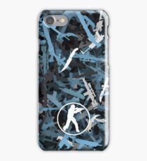 Counter Strike. Vulcan colors weapon iPhone Case/Skin