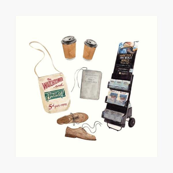 JW essentials Art Print