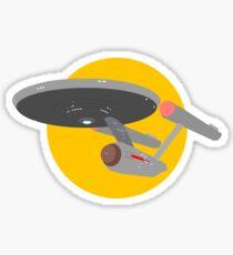 Star Trek - USS Enterprise NCC-1701 Sticker
