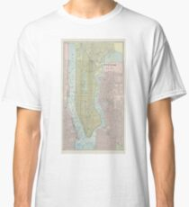Vintage Map of New York City (1901) Classic T-Shirt