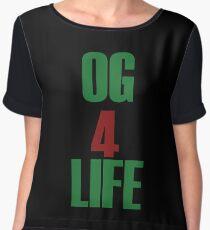 OG for Life Women's Chiffon Top