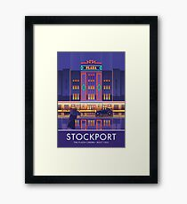 Stockport, Plaza Cinema Framed Print