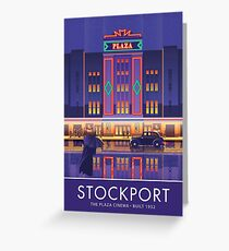 Stockport, Plaza Cinema Greeting Card