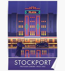 Stockport, Plaza Cinema Poster