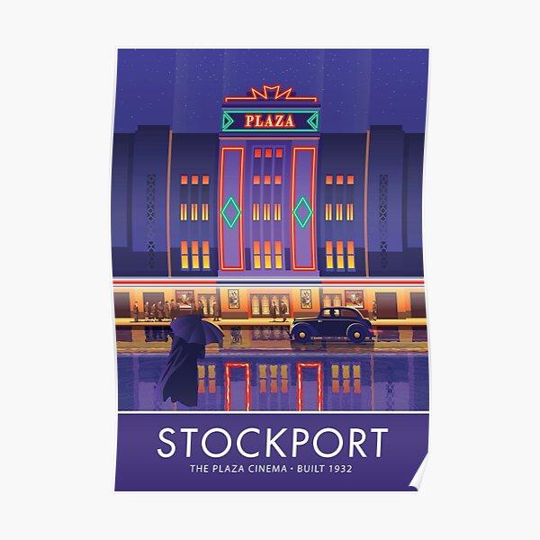 Stockport, Plaza Cinema Poster