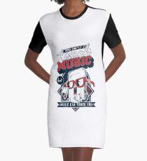 Regular Show Graphic T-Shirt Dress