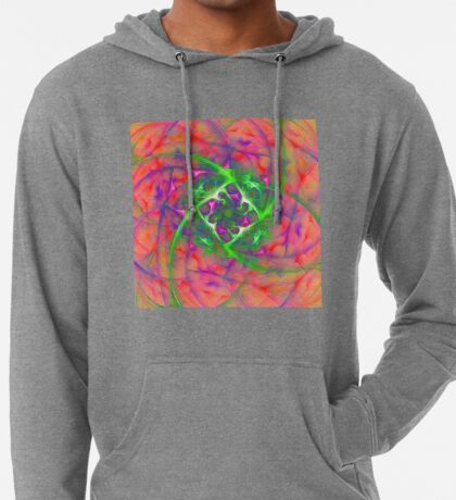 At the beginning of the rotation #fractal art Lightweight Hoodie