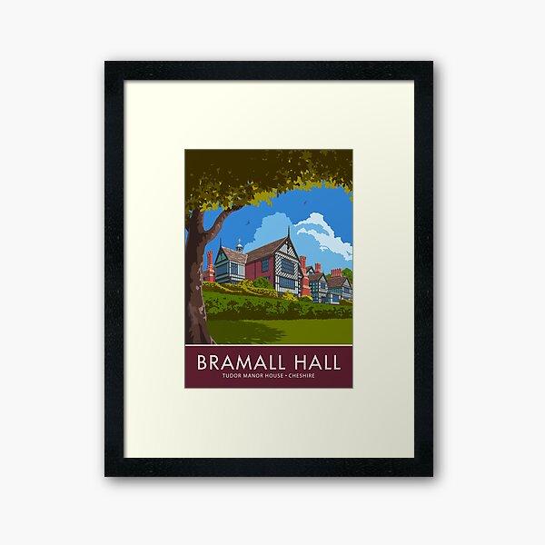Bramall Hall, Cheshire Framed Art Print