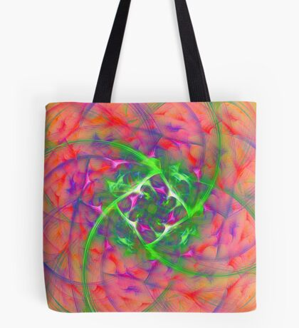 At the beginning of the rotation #fractal art Tote Bag