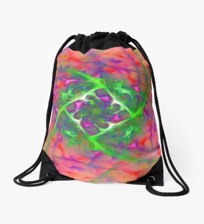At the beginning of the rotation #fractal art Drawstring Bag