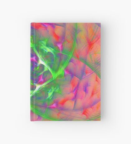 At the beginning of the rotation #fractal art Hardcover Journal