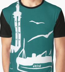 Trawlers - Home in Turquoise Graphic T-Shirt