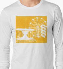 Seaside Fair in Yellow Long Sleeve T-Shirt