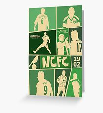 Norwich City Moments and Memories Greeting Card