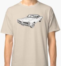 1966 Pontiac Lemans Car Illustration Classic T-Shirt