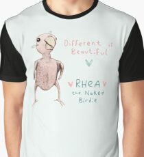 Rhea - Different is Beautiful Graphic T-Shirt