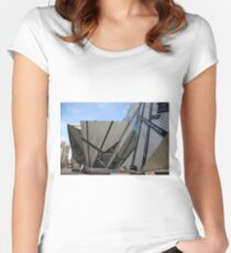 Shapes and Patterns! Women's Fitted Scoop T-Shirt
