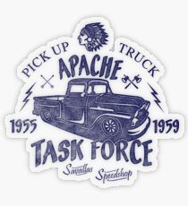 Chevrolet Apache Truck Task Force Series Transparenter Sticker